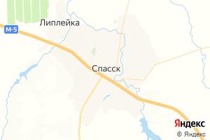 Карта г. Спасск Пензенская область