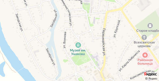 Коммунистическая улица в Темникове с номерами домов на карте. Спутник и схема онлайн