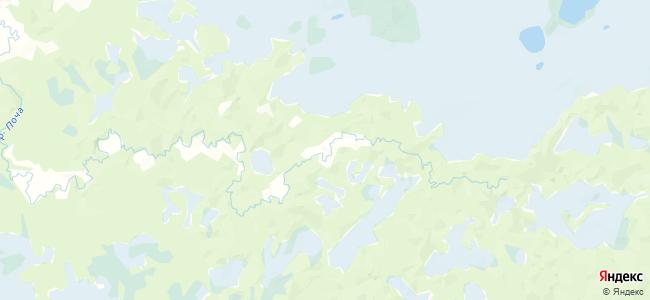 Сергеевская на карте