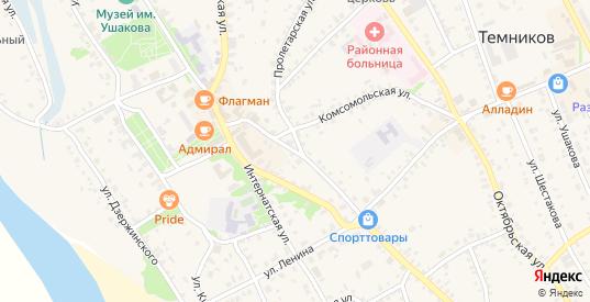 Гражданская улица в Темникове с номерами домов на карте. Спутник и схема онлайн