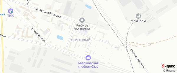 Спортивная улица на карте Балашова с номерами домов