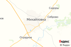 Карта г. Михайловка Волгоградская область