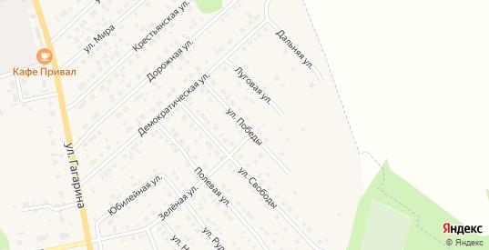 Улица Победы в Темникове с номерами домов на карте. Спутник и схема онлайн