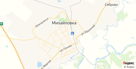 Карта Михайловки с улицами и домами подробная. Показать со спутника номера домов онлайн