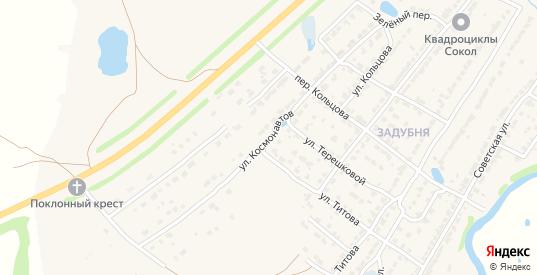 Улица Космонавтов в Ворсме с номерами домов на карте. Спутник и схема онлайн