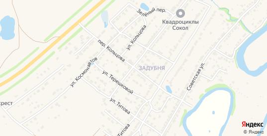 Переулок Кольцова в Ворсме с номерами домов на карте. Спутник и схема онлайн