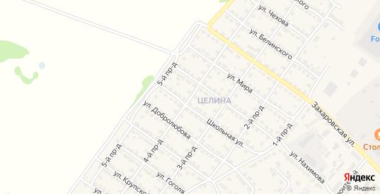 4-й проезд в Ворсме с номерами домов на карте. Спутник и схема онлайн