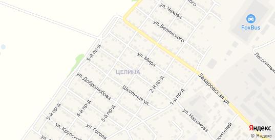 3-й проезд в Ворсме с номерами домов на карте. Спутник и схема онлайн