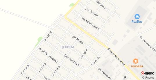 Улица Мира в Ворсме с номерами домов на карте. Спутник и схема онлайн
