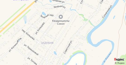Селькоровская улица в Ворсме с номерами домов на карте. Спутник и схема онлайн