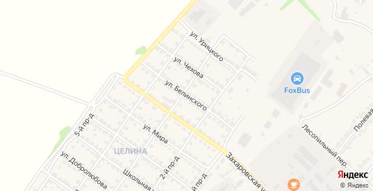 Улица Белинского в Ворсме с номерами домов на карте. Спутник и схема онлайн