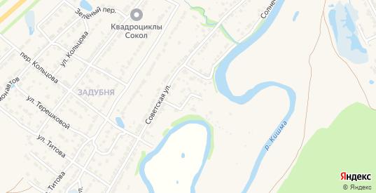 Улица Гайдара в Ворсме с номерами домов на карте. Спутник и схема онлайн