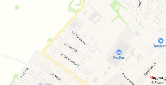 Улица Урицкого в Ворсме с номерами домов на карте. Спутник и схема онлайн