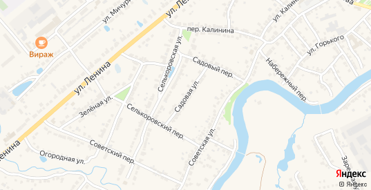 Садовая улица в Ворсме с номерами домов на карте. Спутник и схема онлайн