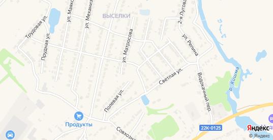 Улица Крылова в Ворсме с номерами домов на карте. Спутник и схема онлайн