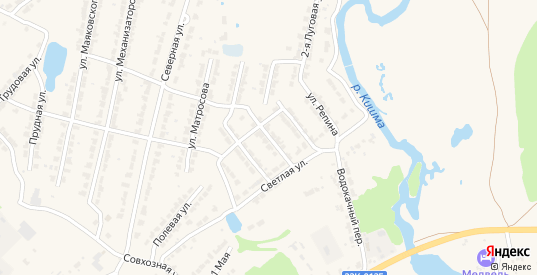 Улица Циолковского в Ворсме с номерами домов на карте. Спутник и схема онлайн