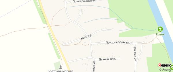 Новая улица на карте села Трубетчино Саратовской области с номерами домов