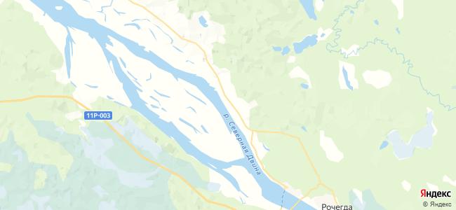 Сидоровская на карте