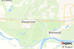 Карта пос. Решетиха Нижегородская область