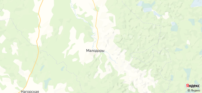 Спасская на карте