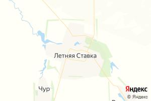 Карта с. Летняя Ставка Ставропольский край
