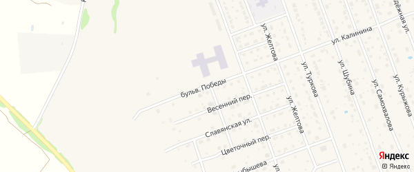 Бульвар Победы на карте Богородска с номерами домов