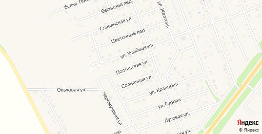 Полтавская улица в Богородске с номерами домов на карте. Спутник и схема онлайн