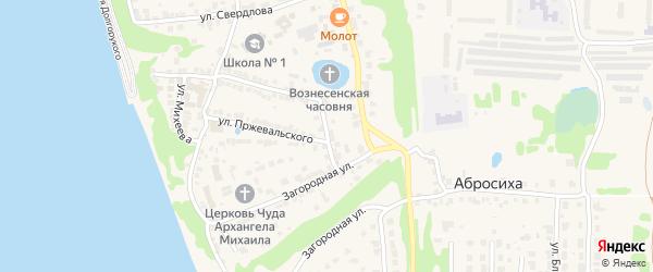 Улица Макаренко на карте Городца с номерами домов
