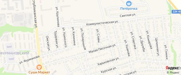 Уральская улица на карте Городца с номерами домов