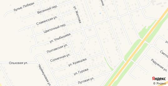 Счастливый переулок в Богородске с номерами домов на карте. Спутник и схема онлайн
