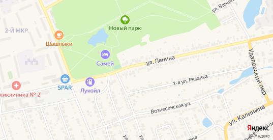 Территория ГК участок 10 массив 3 ул.Ленина в Богородске с номерами домов на карте. Спутник и схема онлайн
