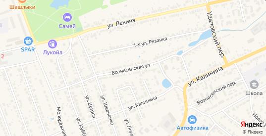 Вознесенская улица в Богородске с номерами домов на карте. Спутник и схема онлайн
