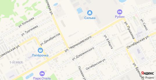 Территория ГК участок 13 массив Г ул.Чернышевского в Богородске с номерами домов на карте. Спутник и схема онлайн