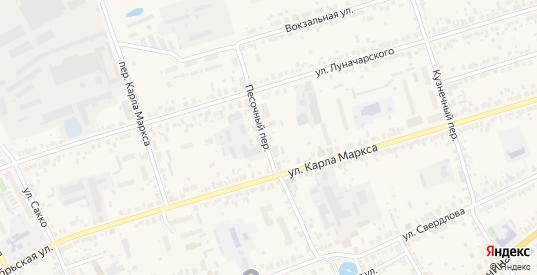 Территория ГК участок 10 массив 3 пер.Песочный в Богородске с номерами домов на карте. Спутник и схема онлайн