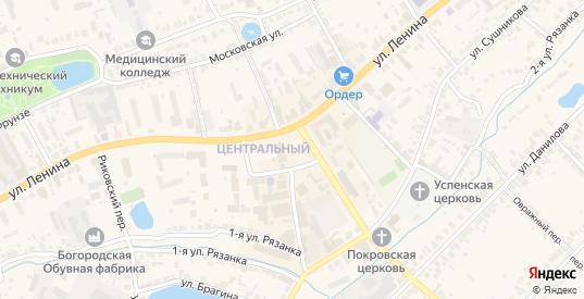 Парк им Ленина в Богородске с номерами домов на карте. Спутник и схема онлайн