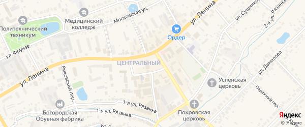Территория ГК участок 22 массив 6 ул.Котельникова на карте Богородска с номерами домов