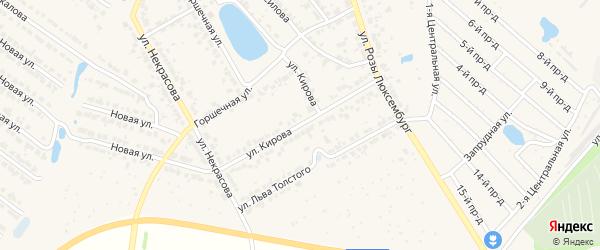 Улица Кирова на карте Богородска с номерами домов