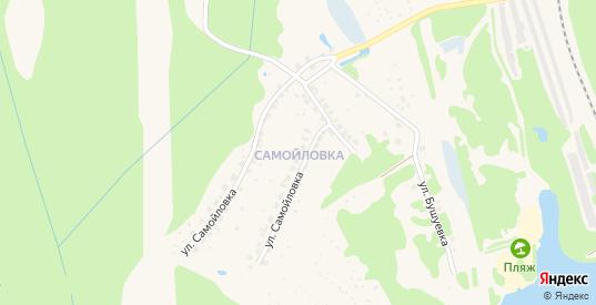 Территория гк ул Самойловка в Балахне с номерами домов на карте. Спутник и схема онлайн