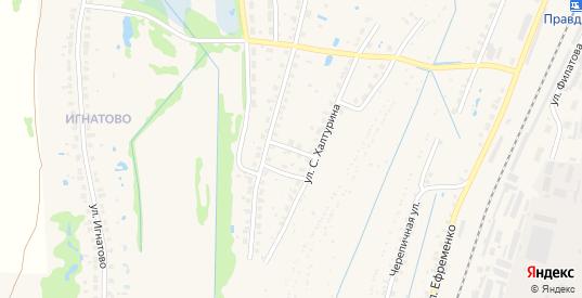 Переулок Степана Халтурина в Балахне с номерами домов на карте. Спутник и схема онлайн