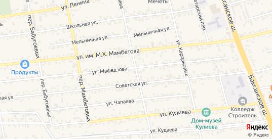 Переулок Бабугоевых в Чегеме с номерами домов на карте. Спутник и схема онлайн