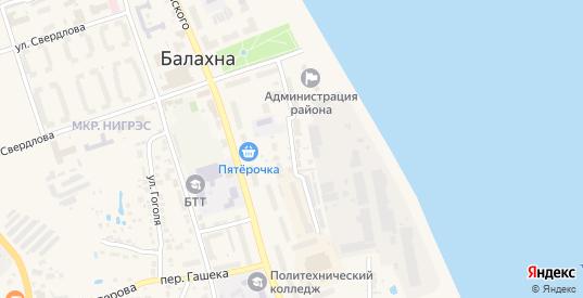 Территория гк ул Лесопильная у дома 6 в Балахне с номерами домов на карте. Спутник и схема онлайн