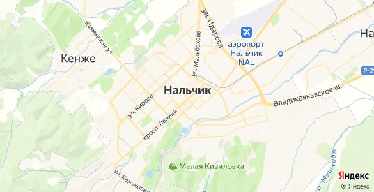 Карта Нальчика с улицами и домами подробная. Показать со спутника номера домов онлайн