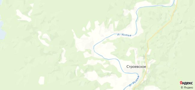 Сабуровская на карте