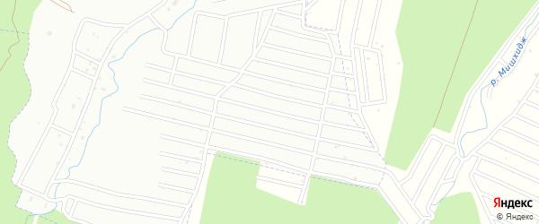 Территория сдт Намыс на карте Нальчика с номерами домов