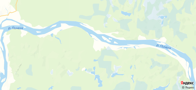 Пильегоры на карте