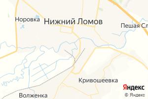 Карта г. Нижний Ломов