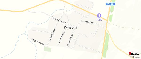 Квартал 26-09-090401 на карте села Кучерла Ставропольского края с номерами домов