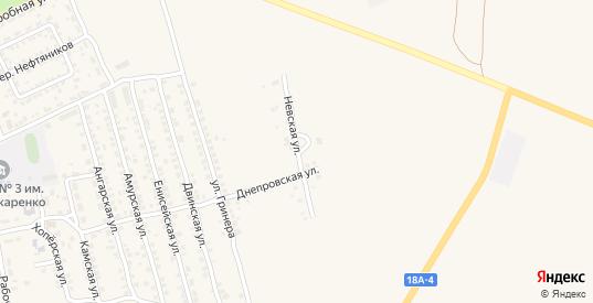 Невская улица в Фролово с номерами домов на карте. Спутник и схема онлайн