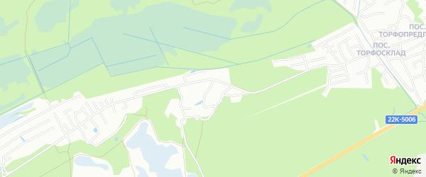 Карта поселка Стройки-2 города Нижнего Новгорода в Нижегородской области с улицами и номерами домов