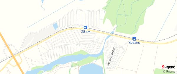 Карта садового некоммерческого товарищества Нарта в Кабардино-Балкарии с улицами и номерами домов